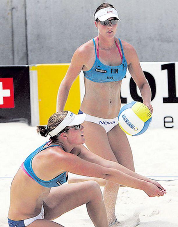 Nyströmit kohtaavat perjantaina ensimmäisessä ottelussaan bulgarialaiset Yanchulovan sisarukset Linan ja Petian.
