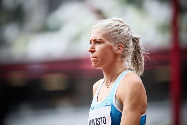 Sara Kuivisto juoksi Tokion olympialaisissa lukuisia Suomen ennätyksiä.