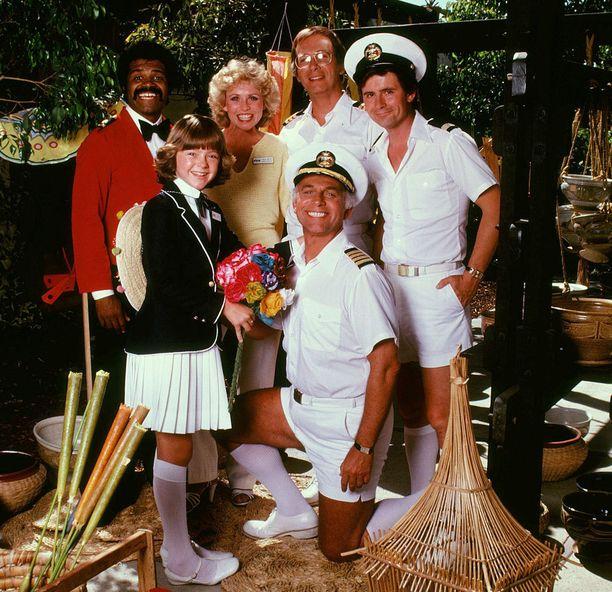 Isaac, Julie, Adam eli Doc, Gopher, Vicki ja tietysti kapteeni Merrill Stubing risteilivät Lemmenlaivalla.