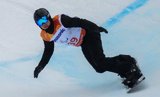 Marri Suur-Hamari otti pronssia teknisessä banked slalomissa.