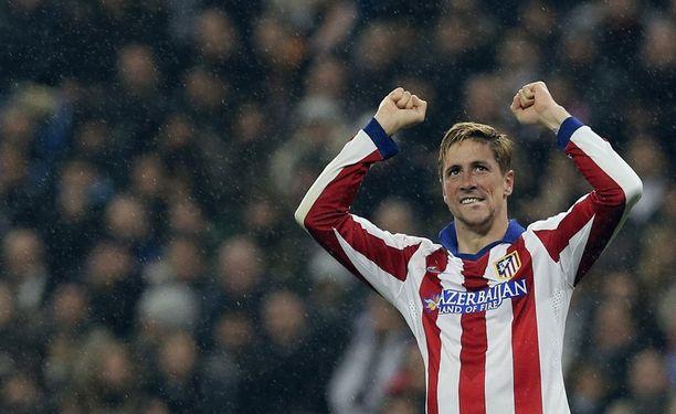 Pitkään parasta virettään etsinyt Fernando Torres onnistui Santiago Bernabéulla.