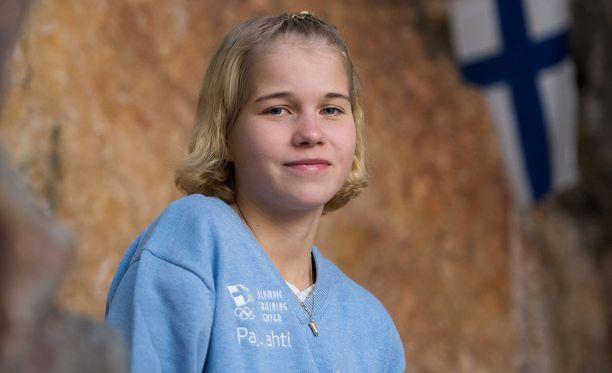 Alisa Vainio oli Joulujuoksun nopein Helsingissä.