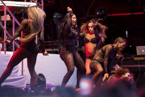 Summer Upin tämän vuoden pääesiintyjä oli Nicki Minaj.
