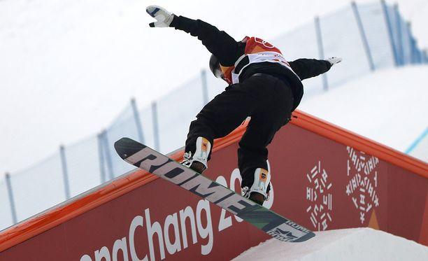 Rene Rinnekangas pystyy jatkamaan olympiaurakkaansa.