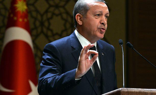 Presidentti Erdoganin mukaan Turkin lehdistö on niin vapaa, että se saa solvata ja olla rasistinen.