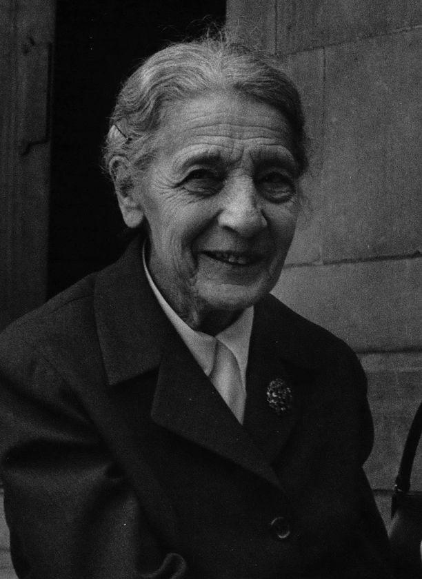 Lise Meitner vuonna 1960.