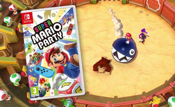 Super Mario Party tarjoaa 80 minipeliä.