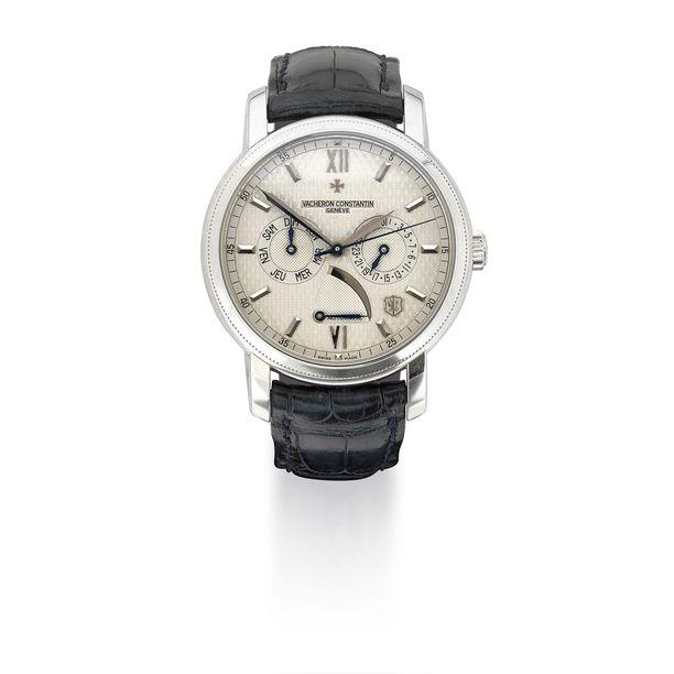 Huutokaupassa hän myy myös käyttämiään harvinaisia kelloja.