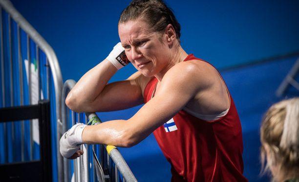 Mira Potkosen olympiaurakka päättyi keskiviikkona.