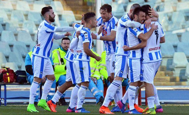 Pescara juhli tänään Genoan kustannuksella.