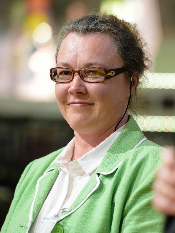 Toimittaja-kustantaja Johanna Korhonen on myös Helsingin hiippakuntavaltuuston puheenjohtaja.