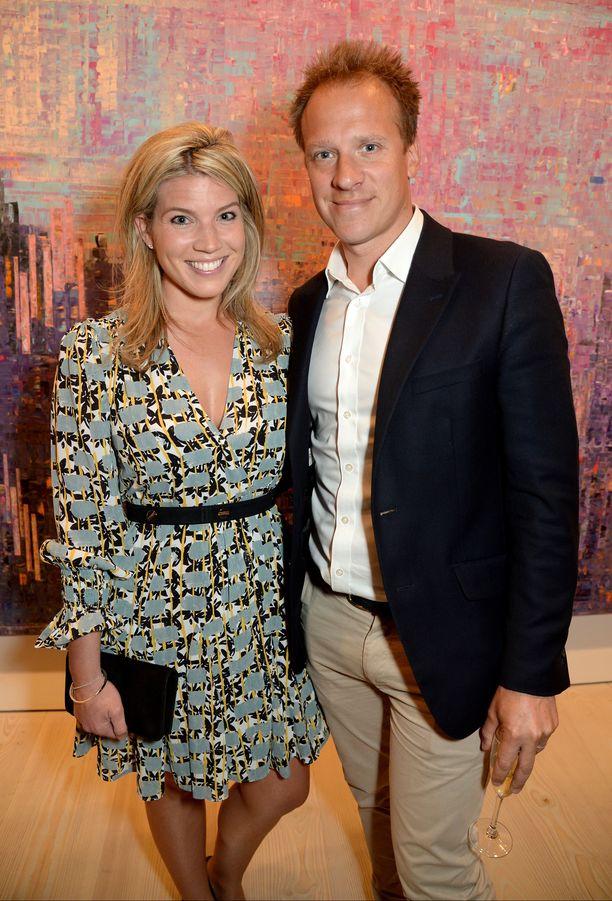 Natasha Archer ja Chris Jackson ovat poikavauvan vanhempia.
