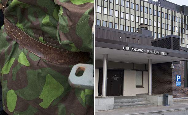 Palkittu reserviläinen tuomittiin Etelä-Savon käräjäoikeudessa sakkotuomioon.