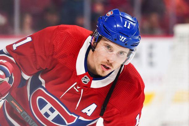Brendan Gallagher jatkaa uraansa Montrealissa.