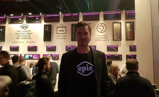 Martti Paatela on startup-yrittäjä - ja rakettitieteilijä.