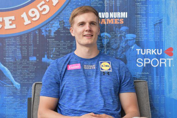 Oliver Helander palaa tiistaina Paavo Nurmi Gamesissa keihäspaikalle puolentoista vuoden kilpailutauon jälkeen.