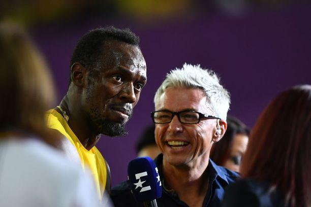 Jonathan Edwards on tehnyt pitkän elämäntyön urheilun parissa. Tässä hän haastattelee Usain Boltia Eurosportille.