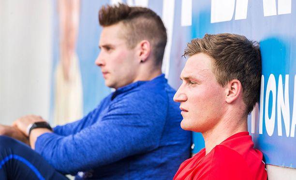 Johannes Vetter (94,44) ja Thomas Röhler (93,90) ovat tämän kauden maailmantilaston ykkönen ja kakkonen.
