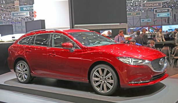 Mazda6 Touring.