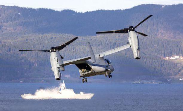 Naton suuri Trident Juncture -sotaharjoitus järjestettiin loka-marraskuun vaihteessa. Kuva on Norjan Trondheimista.