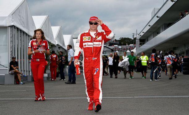 Kimi Räikkönen hakee kauden kolmatta palkintopallisijaansa Sotshissa.
