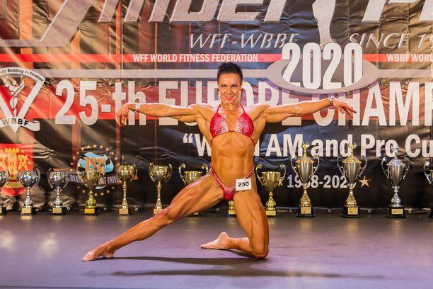 Hanna Skyttä saavutti huippumenestystä Liettuasta.