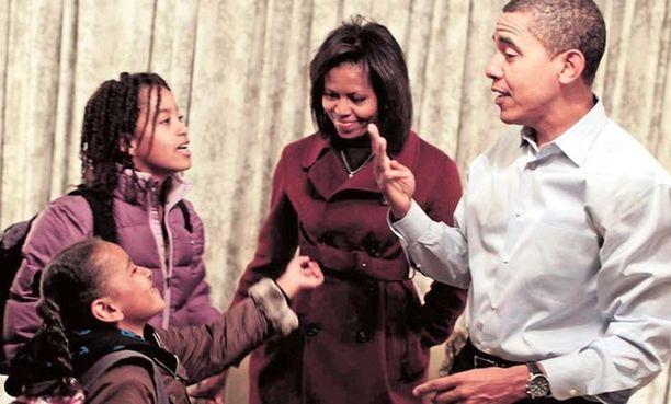Obamat pääsevät vihdoin muuttamaan Valkoiseen taloon tammikuun lopulla.