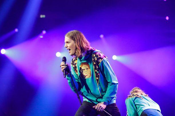 Daði Freyrin Euroviisu-matka ei ollut helpoimmasta päästä.