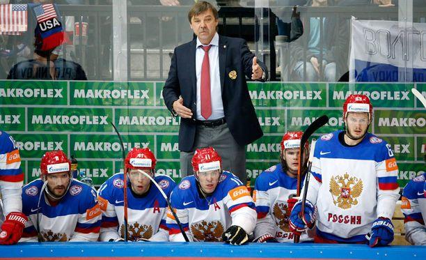 Oleg Znarok menettää tukun maajoukkupelaajia rapakon taakse.