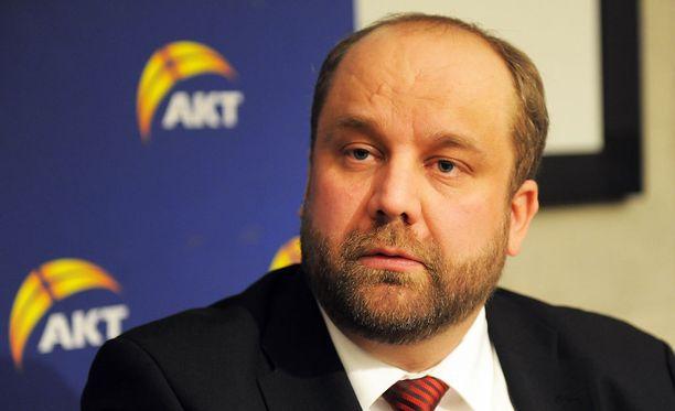 Marko Piirainen valittiin kolme vuotta sitten AKT:n johtoon.