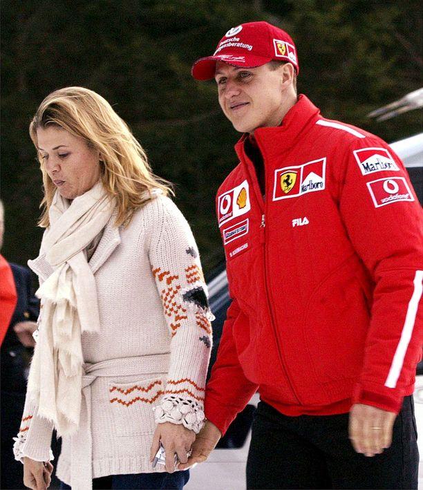Corinna-vaimo ja Michael Italiassa vuonna 2003.