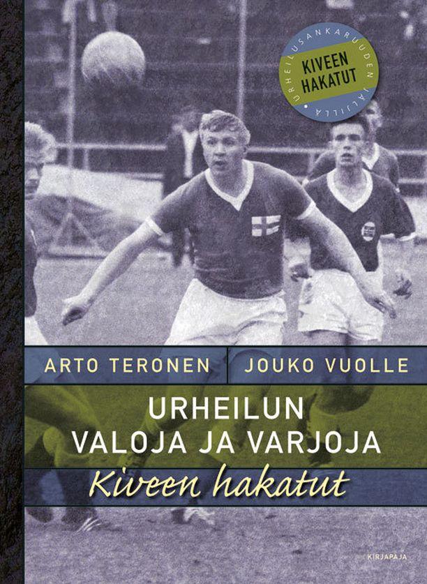 Arto Terosen ja Jouko Vuolteen Kiveen hakatut – Urheilun valoja ja varjoja tulee myyntiin tällä viikolla.