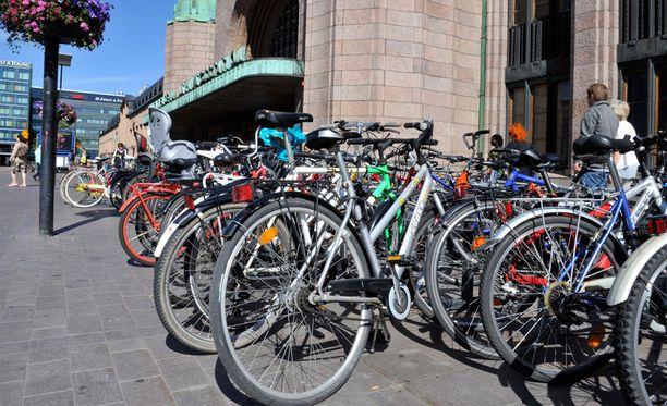 Polkupyöriä ei anastettaisi niin suuria määriä, ellei niille olisi jälkimarkkinoita.