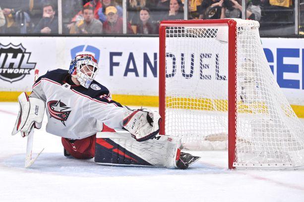 Columbuksen Sergei Bobrovski on valittu kahdesti NHL:n parhaaksi maalivahdiksi.
