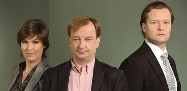 Helena Karihtala, Hjallis Harkimo ja Keijo Säilynoja tulevat päättämään Diili-kilpailijoiden kohtalosta.