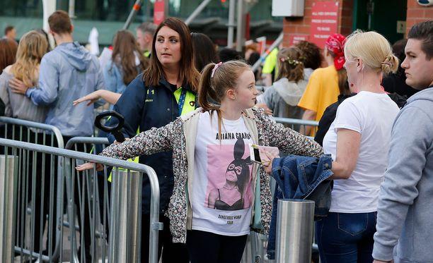 Myös Manchesterin hyväntekeväisyyskonsertin turvatoimet olivat tiukat.