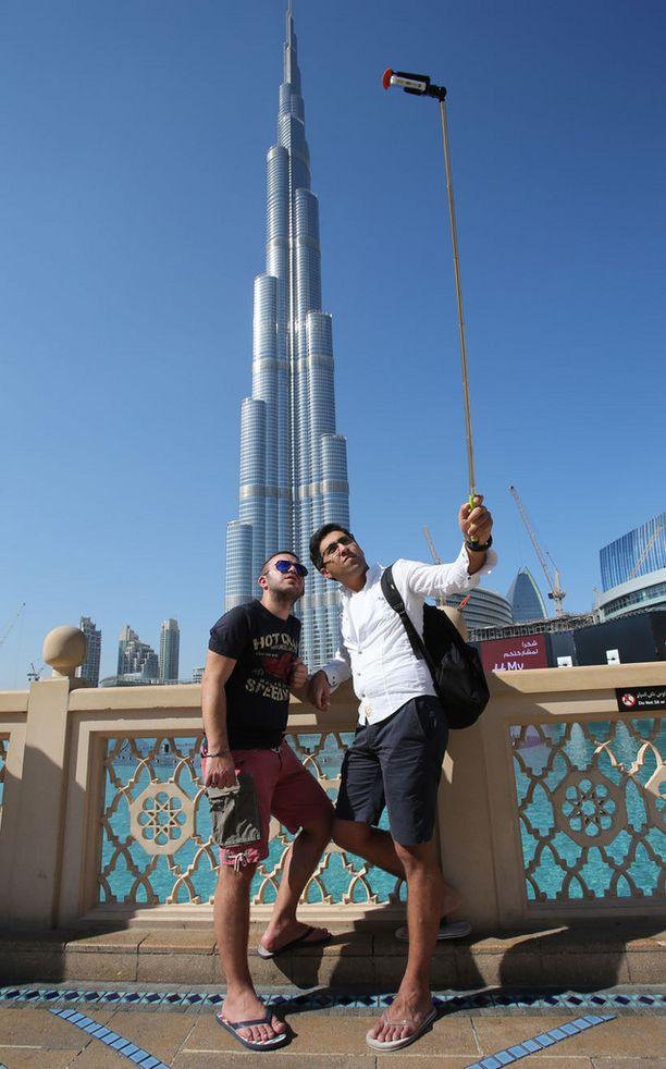 Dubai on suosittu kohde etenkin talvisin.