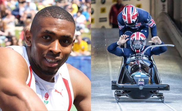Sprintterilahjojen lisäksi Joel Fearon on olympiatason rattikelkkailija.