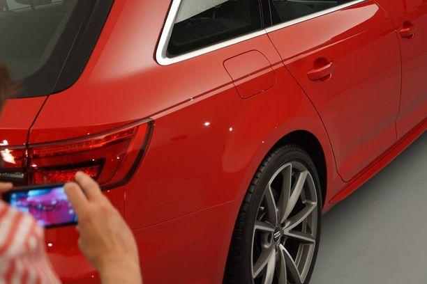 Audin muotoilijat ovat ylpeitä täyspitkästä kylkilinjasta, jollaista heidän mukaansa ei kukaan muu valmistaja ole osannut tehdä.