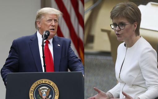 Skotlannin pääministeriltä poikkeuksellisen raju lausunto: vihjaa Donald Trumpin olevan rasisti