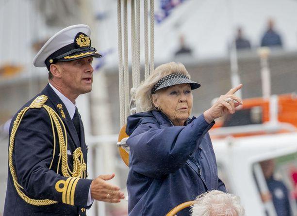 Prinsessa Beatrix on aktiivinen ja reipas 80-vuotias. Kuva kesäkuulta 2018.