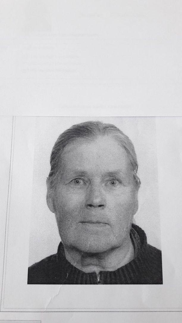 Lounais-Suomen poliisi pyytää vihjeitä kadonneesta Sirkka Tikkasesta.