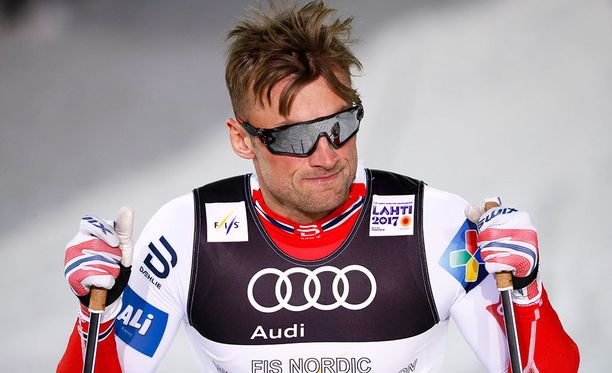 Petter Northug ei saanut lupaa käyttää Tre Kronor -logoa hiihtoasussaan.