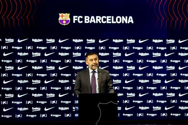 Josep Maria Bartomeun aika FC Barcelonan johdossa tuli päätökseen.