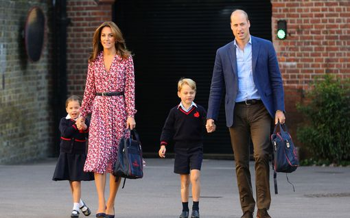 Prinssi William ja herttuatar Catherine ovat jakaneet vilauksia perheen uudesta arjesta - näin elämä sujuu etänä