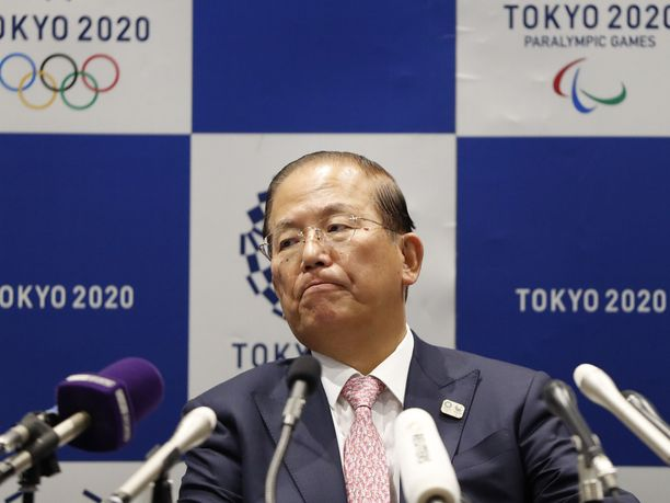 Toshiro Muto valaa uskoa olympialaisten onnistumiselle.