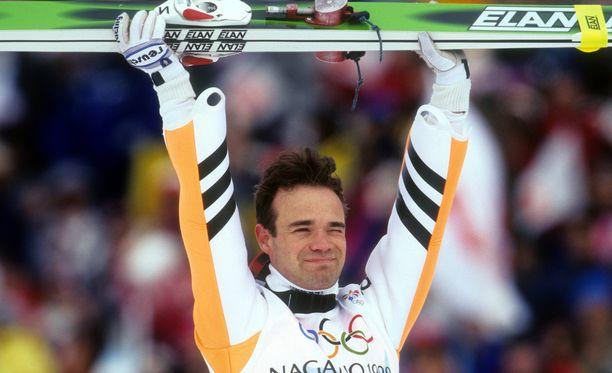 Soininen tunnetaan erityisesti Naganon olympialaisista 20 vuoden takaa.