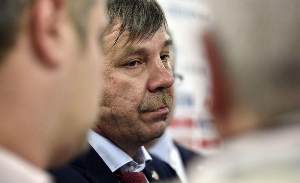 Oleg Znarok ei jäänyt tuulettelemaan Leijonien nylkemistä.