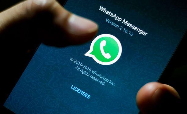 Whatsapp lopettaa tuen vanhemmilla käyttöjärjestelmillä vuonna 2020.