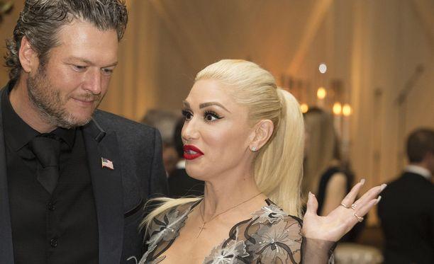 Gwen Stefani osti miehelleen synttärilahjaksi lipputangon.